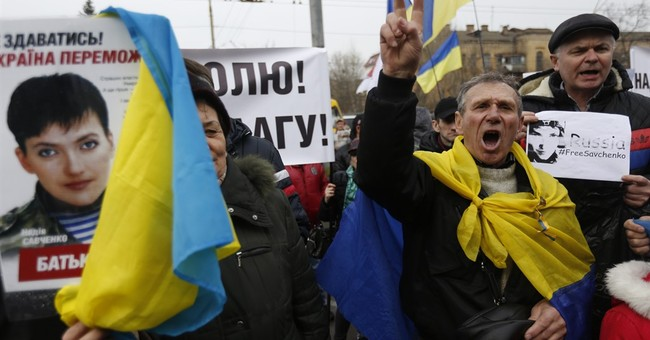 Ukrainian pilot denounces her trial in Russia as a farce