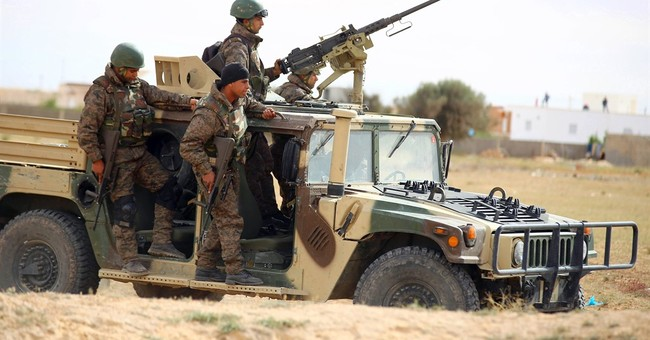 Gunmen in Tunisia battles are flushed out in search of food