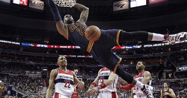 LeBron James motivated by 5-year-old friend vs. Wizards