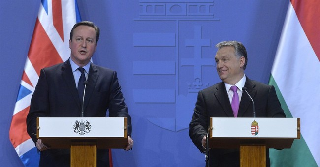 Britain's Cameron in Germany, Hungary to pursue EU changes