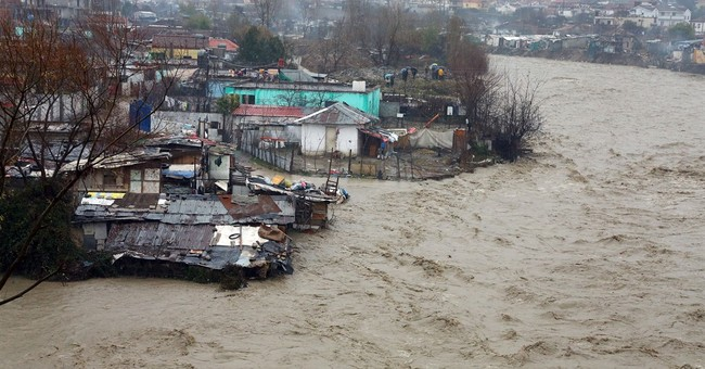 Floods in Albania force hundreds of evacuations
