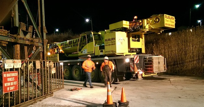 The Latest: 8 of 17 miners stuck in NY salt mine rescued