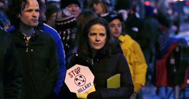 Protesters interrupt Trump Vermont rally despite screening