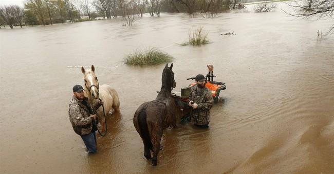 Louisiana reels from days of pounding rain