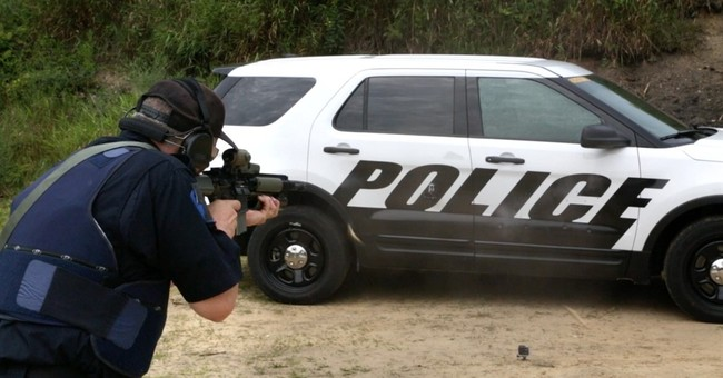 Ford makes police car doors that stop armor-piercing bullets