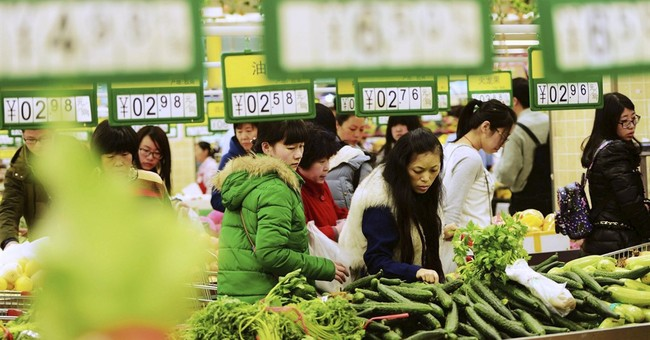 Chinese inflation accelerates to 2.3 percent