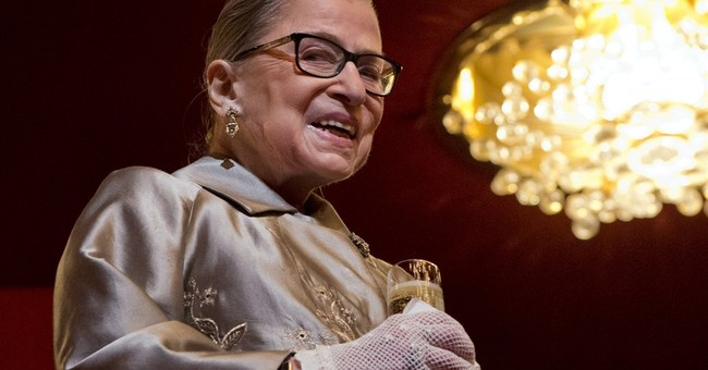 Book of Justice Ginsburg's writings coming next January