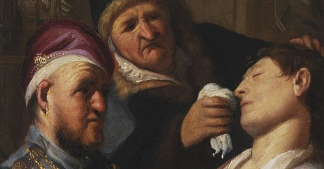 French gallery shows off 'new' Rembrandt at fine art fair