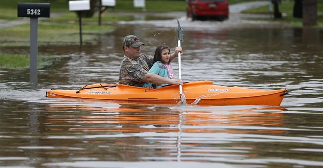 Flooding forces more than 1,000 from homes in Louisiana