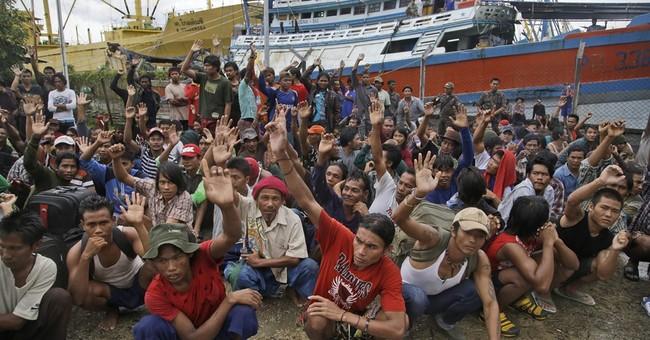8 men sentenced to 3 years in jail for enslaving fishermen