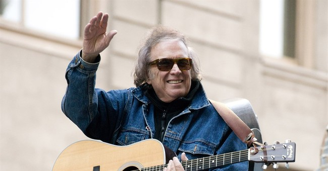 Wife files for divorce from 'American Pie' singer Don McLean