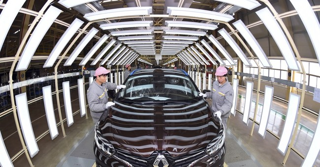 China's auto sales rise 5.1 percent in January-February