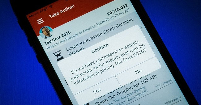 Cruz campaign updates smartphone app to fix security flaws