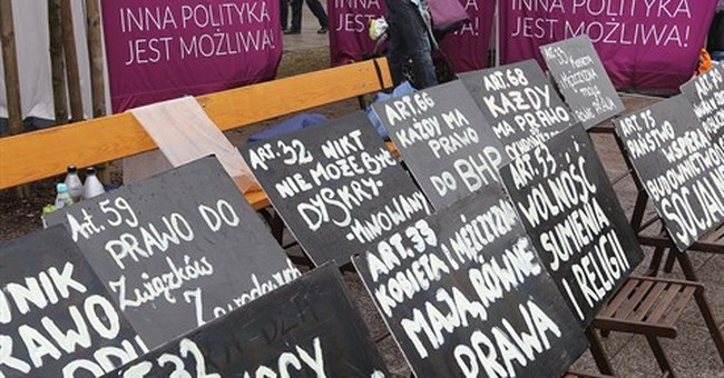 Poland turns from model of democracy into European problem