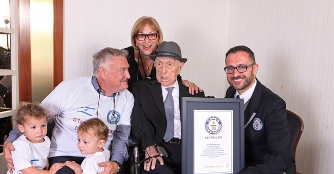 Guinness: Israel Holocaust survivor, 112, world's oldest man