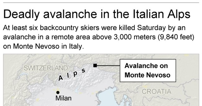 Italian investigators study dynamics of deadly avalanche