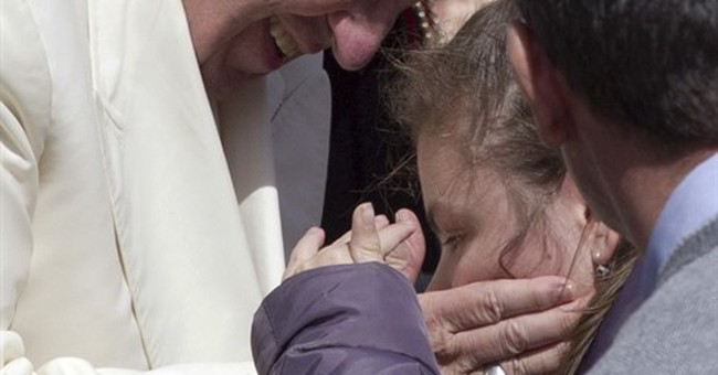 Pope Francis stresses mercy message on 3rd anniversary