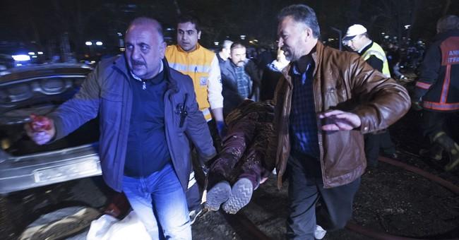 Car bomb in Turkey's capital kills at least 34, wounds 125