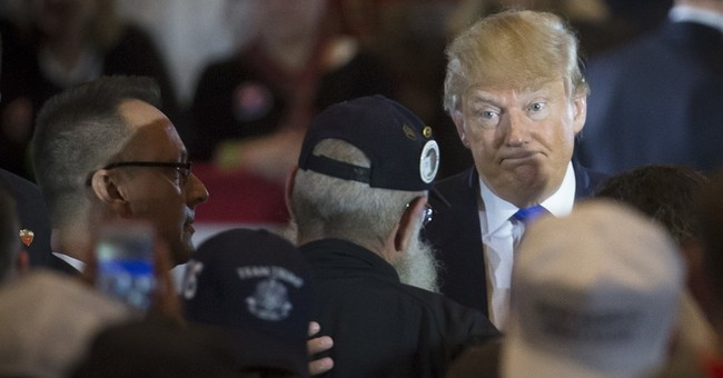 Trump dodges question about McCain during subdued Ohio event