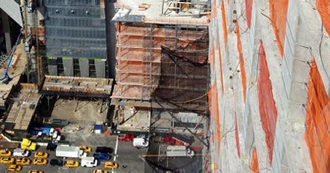 Crane operators are sky-high stars in NY construction boom