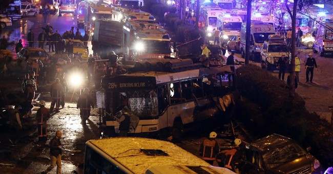 Car bomb in Turkey's capital kills at least 34, wounds 125