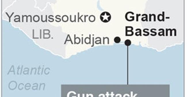 The Latest: Al-Qaida-linked group claims Ivory Coast attack