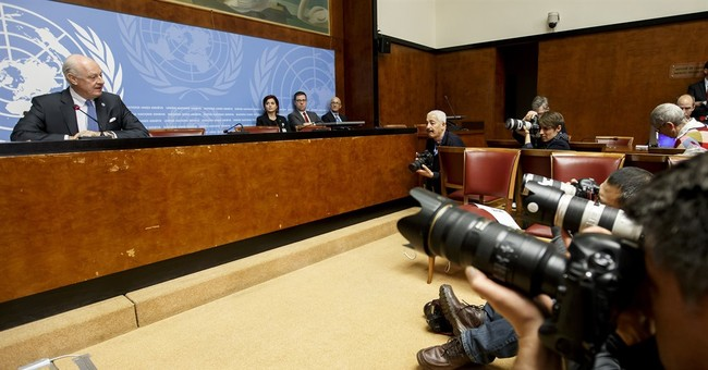The Latest: UN council says Russia out of Syria is positive