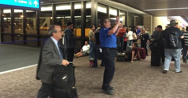 Security incident delays departures from Phoenix Airport