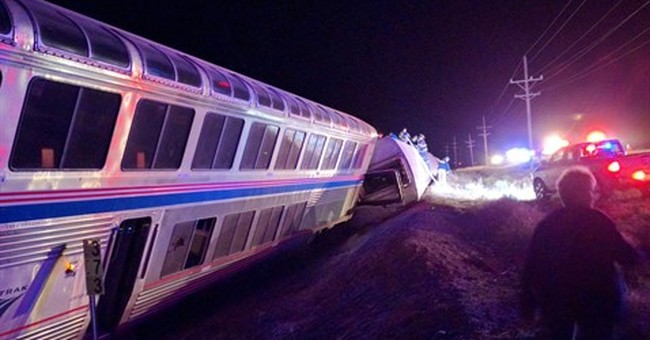 The Latest: NTSB says crews will review rail condition, data