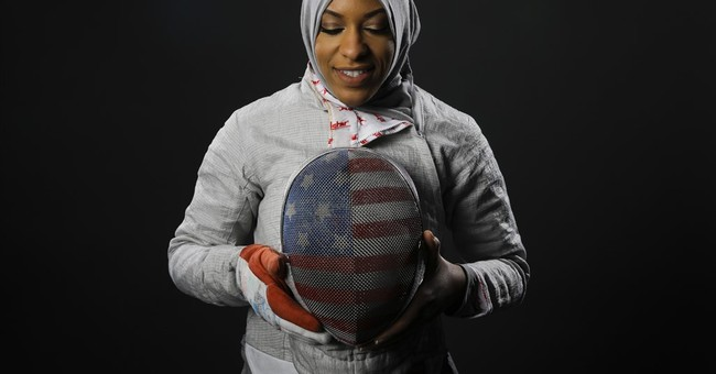 New Jersey fencer to wear head covering at Rio Olympics