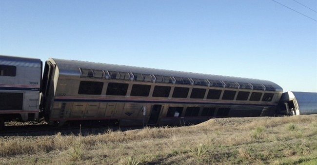 Amtrak train derails in Kansas, injuring at least 32