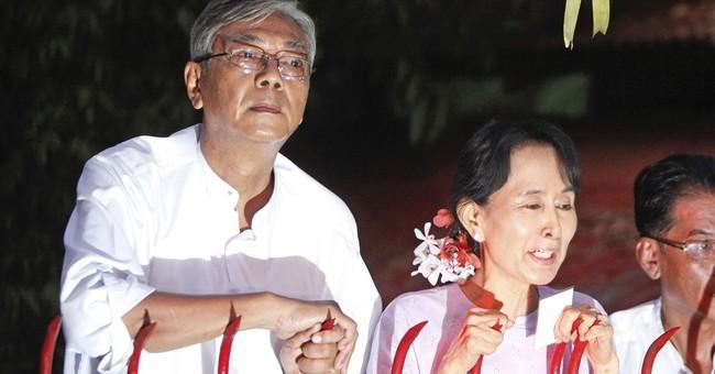 Myanmar's new president is an unlikely leader