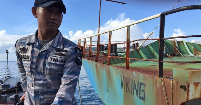Indonesia blows up illegal toothfish ship sought by Interpol