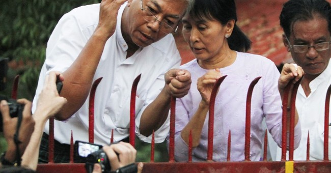 Myanmar's new president is an unlikely leader
