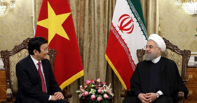 Iran welcomes Vietnamese leader, looks to boost trade