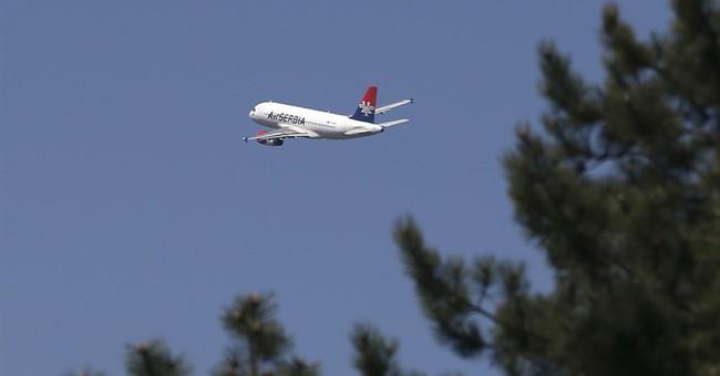 Lebanon: Missiles on Serbian flight were for training