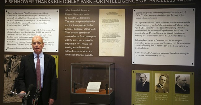 British codebreakers show Eisenhower letter on their success