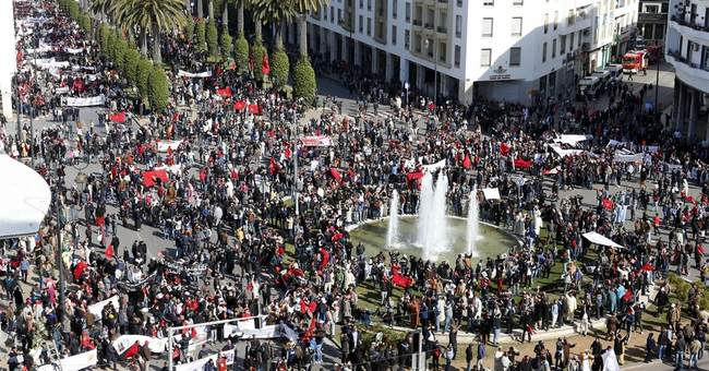 UN chief angry at huge Morocco protest over Western Sahara