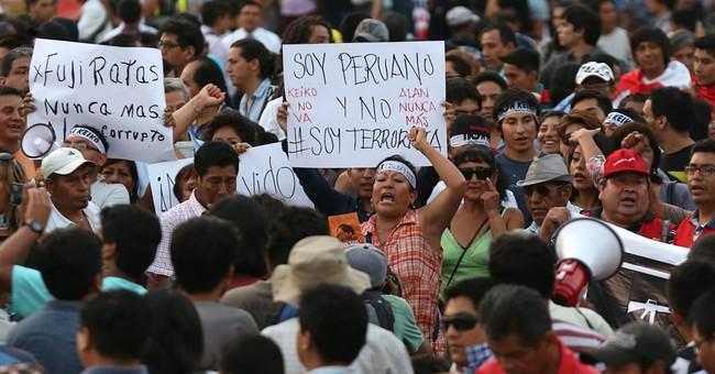 Peruvians take to streets to protest Fujimori candidacy