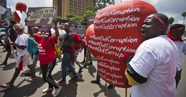Survey: Half of Kenyans believe corruption has increased