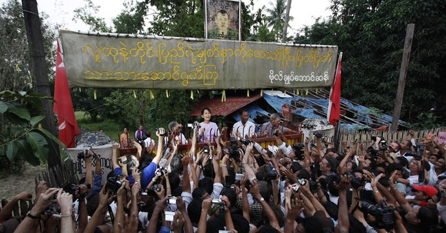 Key events in Myanmar's political history