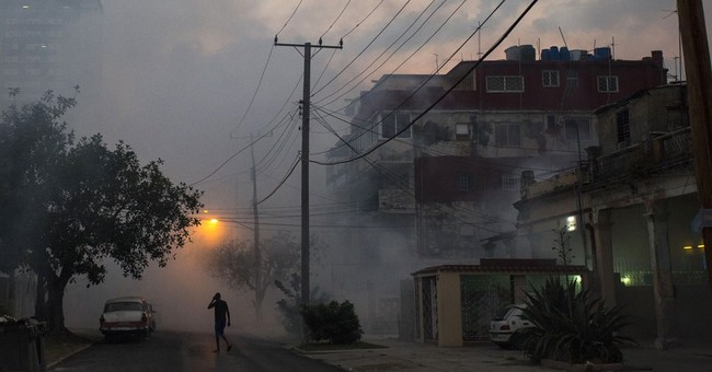 Cuba reports first case of Zika transmitted on the