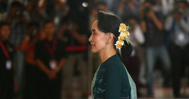 Is Myanmar's new president just a puppet for Suu Kyi?