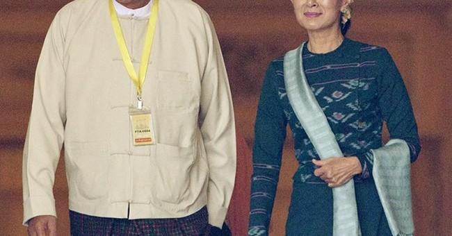Suu Kyi loyalist and friend elected Myanmar's president