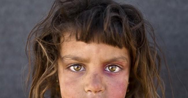 AP PHOTOS: Syria refugee children fear for their future