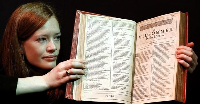 APNewsBreak: 'Holy grail' set of Shakespeare folios for sale