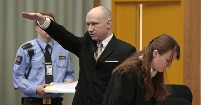 Breivik says Nazi ideology keeping him alive in prison