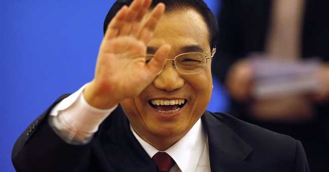 Chinese premier strikes mild tone on regional disputes