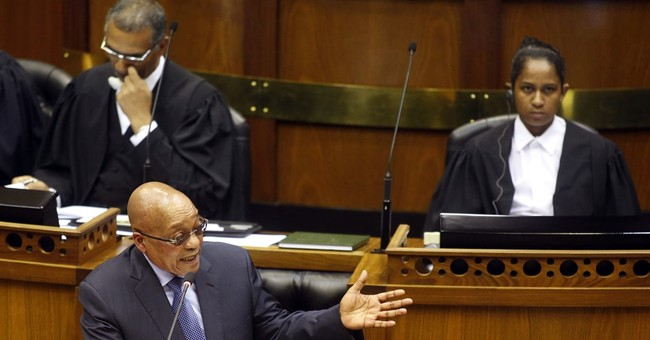 South African president rejects allegations of corruption
