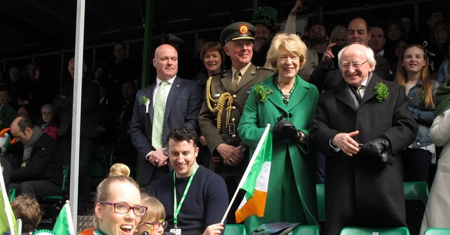 Disabled rights activist leads Dublin St. Patrick's parade